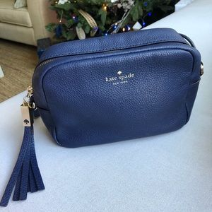 Kate Spade Leather Navy Crossbody